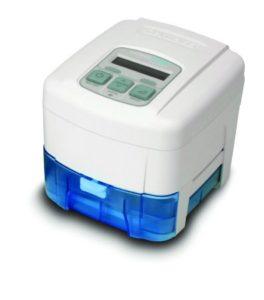 BiPAP machine with humidifier