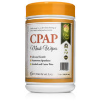 CPAP Cleaning Solutions Citrus Wipes