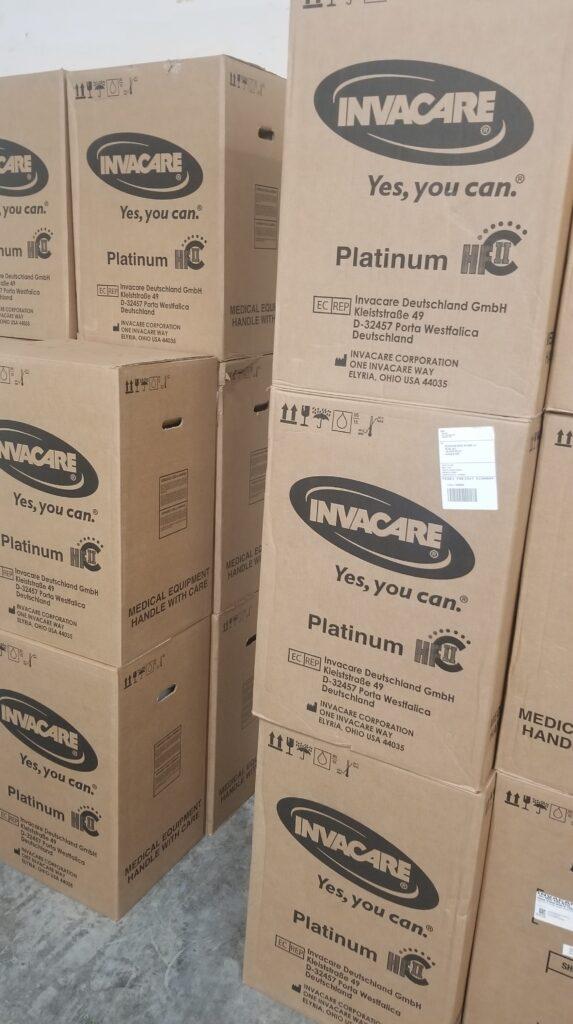 Invacare Platinum In Stock